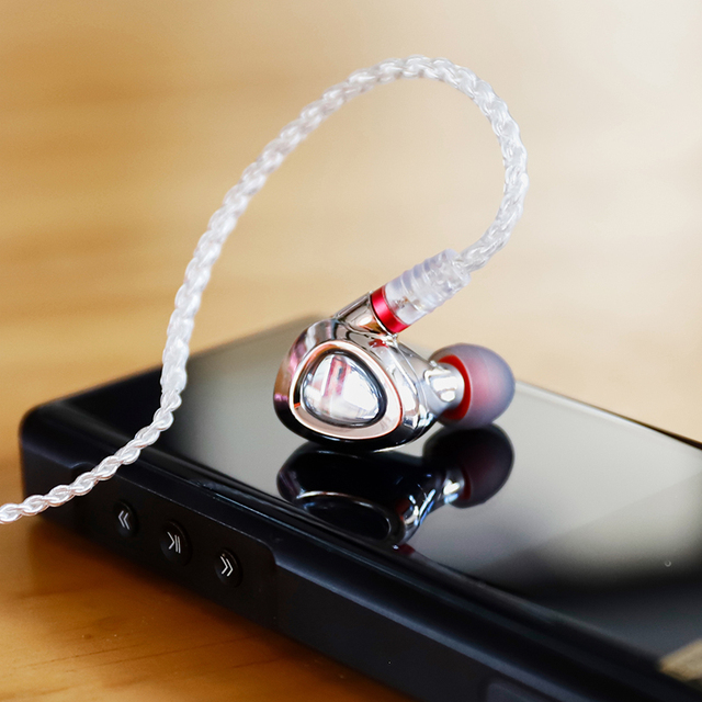 Shanling ME500 Platinum Edition Hybrid technology In-ear Earphone With MMCX Detachable Cable 6