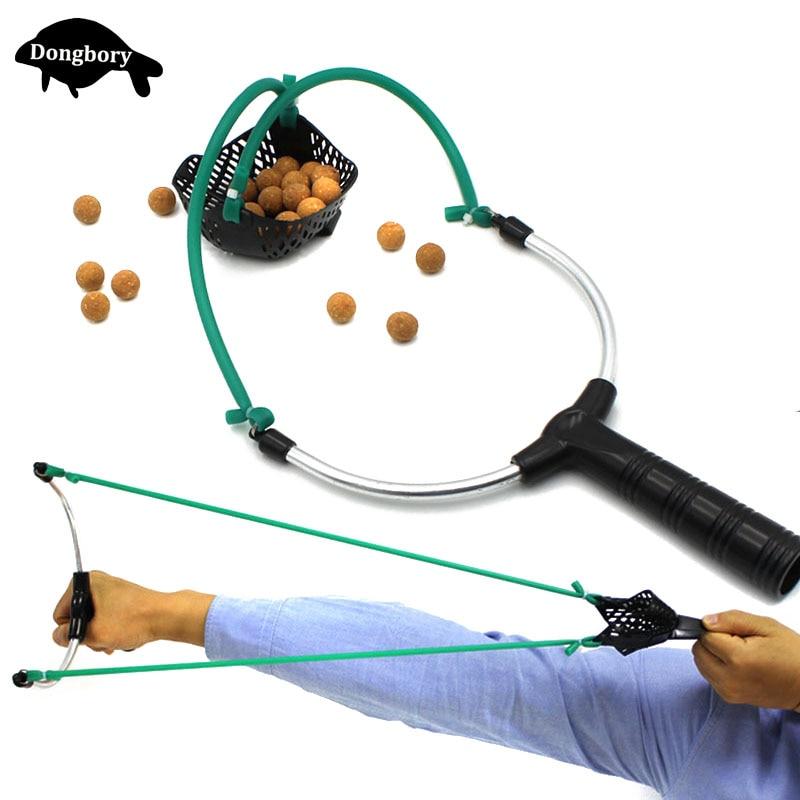 Carp Fishing Tools Baits Slingshot Thrower Send Shot Fishing Slingshot Sling Shot Hunting Tools Baits Catapult Fishing Accessory