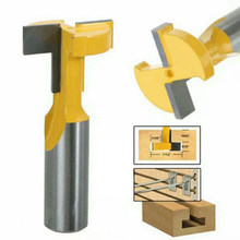 8mm Round Shank T-slot Router Bit Woodwork Tenon Cutter Tools Tackle New(China)