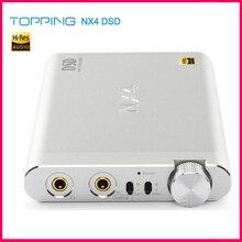 Upgrade Versie Topping NX4 DSD512 ES9038Q2M XMOS XU208 Chip Draagbare Usb Dac Decoder 32bit/768Khz Hoofdtelefoon Versterker