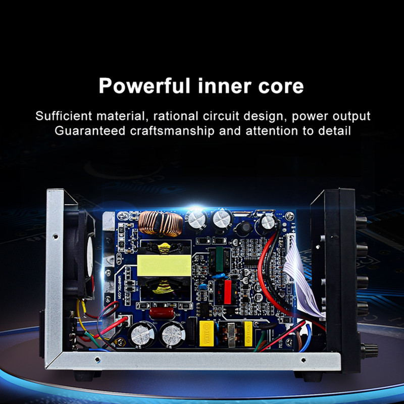 Wanptek Adjustable DC Laboratory 30V 10A Lab Power Supply Adjustable 60V 5A Voltage Regulator Stabilizer Switching Power Supply-4