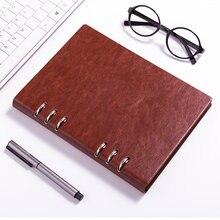 Carpeta de cuaderno de oficina de negocios, A5, A6, diario de viaje, organizador de horario diario, Plan Anual, escuela, oficina, regalo de papelería