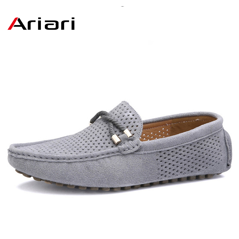 2018 Hot Men Pu Leather Casual Loafers Nightclub Slip On Summer Driving Shoes sz
