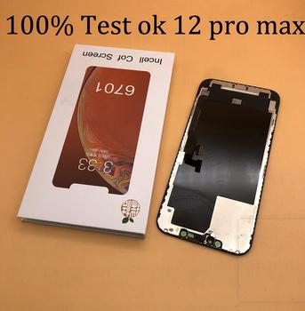 GX TOP AMOLED wyświetlacz dla iphone 11 pro max x XS MAX xr 12 pro max 12 mini 3D prawdziwy Tone dotykowy Digitizer ekran LCD wymiana tanie i dobre opinie ETSupply CN (pochodzenie) Ekran pojemnościowy 2560x1440 3 APPLE for iphone 11 PRO MAX LCD i ekran dotykowy Digitizer