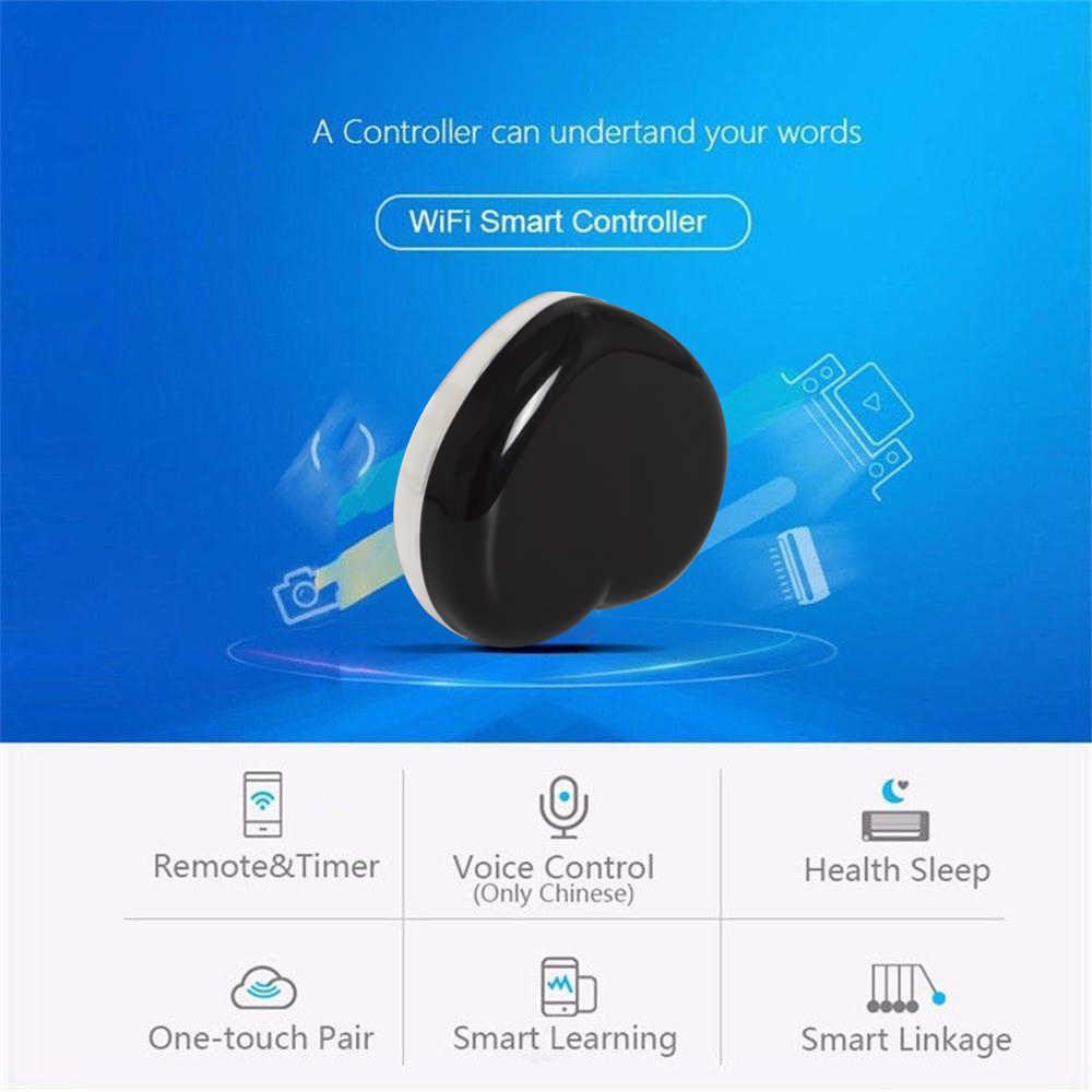 Timethinker Tuya IR Hub WiFi LED Licht Smart Home Afstandsbediening voor Alexa Google Thuis Draagbare Liefde Vormige voor Samsung voor IOS