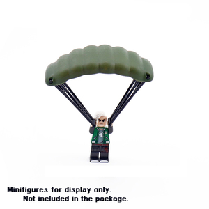 Military Weapon PUBG Building Blocks Accessories Gun Helmet Parachute SWAT Soldier Brick Toy Compatible Legoed Army for Kids