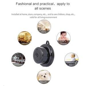 Image 3 - Cámara inalámbrica PTZ Wi Fi Micro Video CCTV vigilancia de seguridad con Wifi Mini cámara IP Nanny Cam Camara para el Sensor de movimiento del teléfono