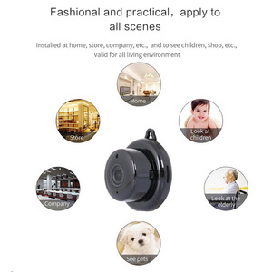 Image 3 - Home Wireless PTZ Wi Fi Micro Video CCTV Security Surveillance with Wifi Mini IP Camera Nanny Cam Camara for Phone Motion Sensor