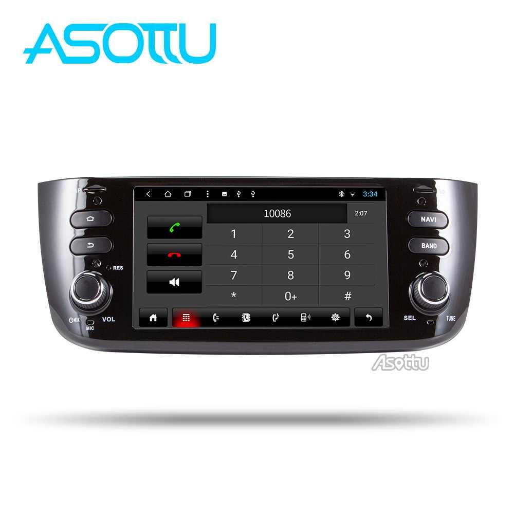 Asottu アンドロイド 9.0 ための車の dvd/リネア/プント 2012 2013 2014 2015 車のマルチメディアプレーヤー