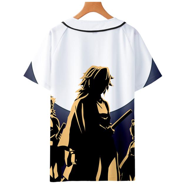 Demon Slayer: Kimetsu no Yaiba 3D Printed T Shirt