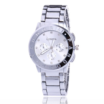 цена Fashion Mens Watch Silver Gold Rose Gold Stainless Steel Band Wristwatch Business Quartz Watches Clock for Man Gifts онлайн в 2017 году