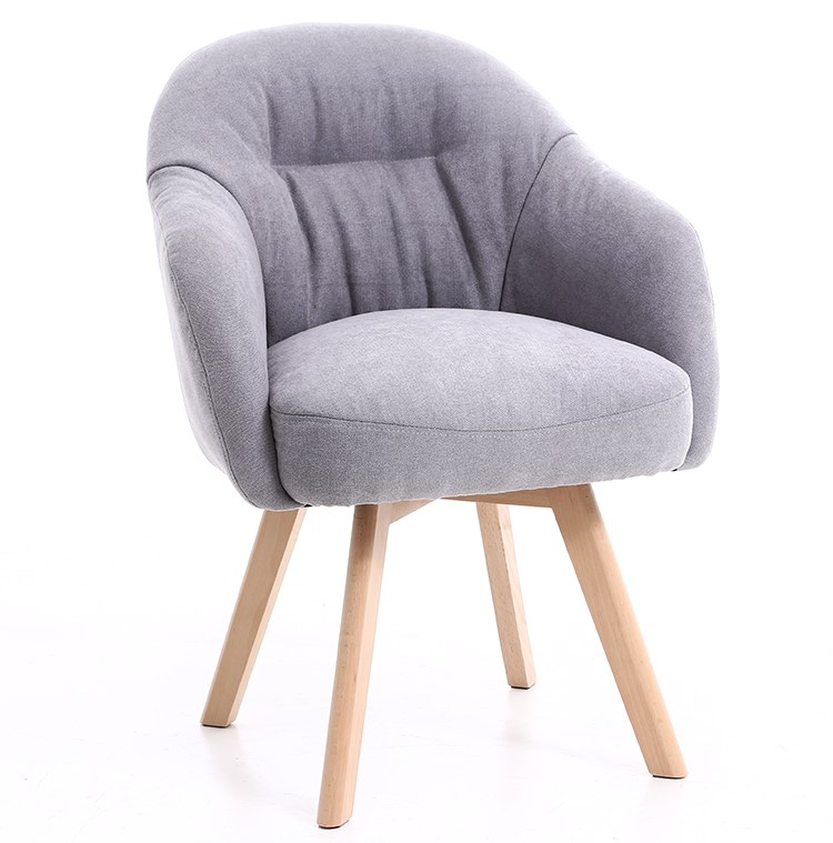 Nordique simple paresseux canapé chaise balcon loisirs chambre salon chaise petit appartement confortable sédentaire tissu maison chaise