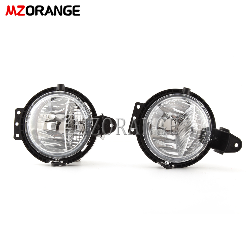 Fog Lights For BMW Mini R55 R56 R57 R58 R59 Clubvan Clubman Cooper Roadster Countryman One Fog Light Headlight LED Halogen Light