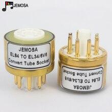 1PC 6BQ5 6P14 6P15 EL84 ZU EL34 6V6 6L6 6L6GT 6P3P 6P6P DIY HIFI Audio Vacuum Tube Verstärker Konvertieren buchse Adapter Freies Shippin