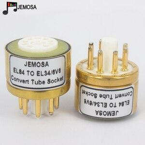 Image 1 - Amplificador de tubo de vacío de Audio HIFI, 1 unidad, 6BQ5 6P14 6P15 EL84 a EL34 6V6 6L6 6L6GT 6P3P 6P6P DIY