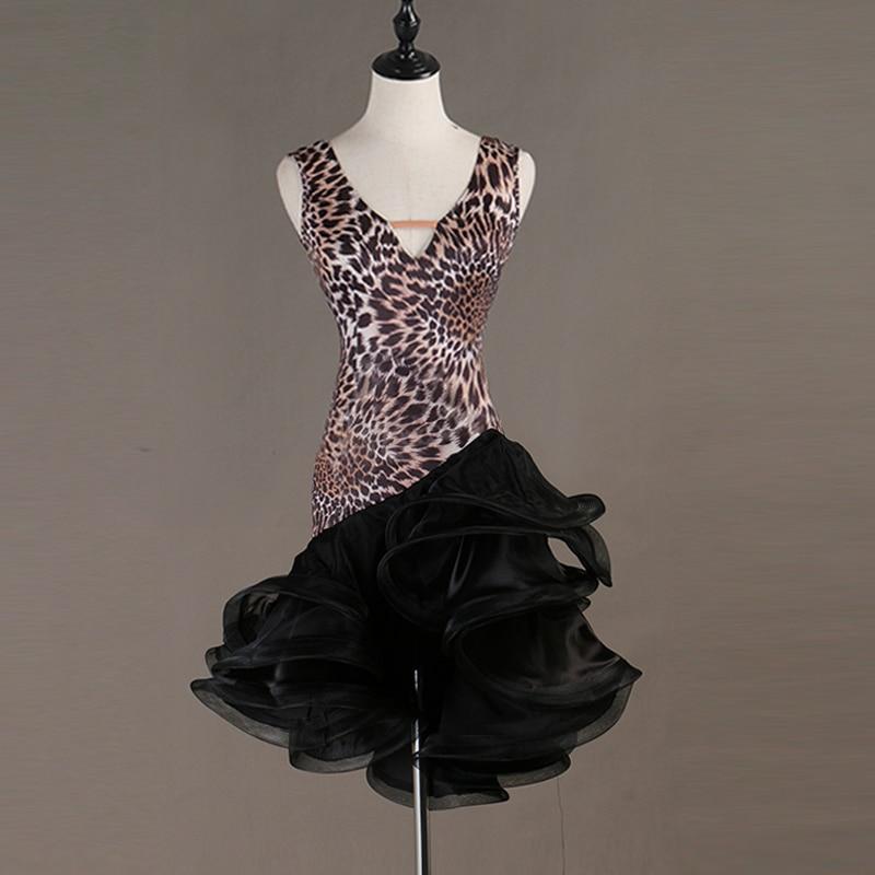 Image 5 - Sexy New Latin Dance Dresses Women Performance Salsa Rumba cha cha Tango Dress CostumesLatin