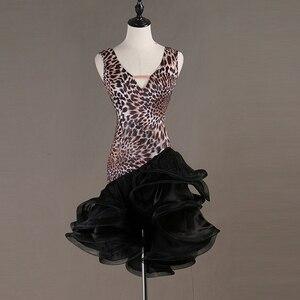 Image 5 - Sexy New Latin Dance Dresses Women Performance Salsa Rumba cha cha Tango Dress Costumes