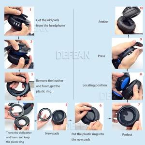 Image 3 - Defean DIY kalın kulak pedleri yastık için sony ps4 PlayStation platin kablosuz kulaklık CECHYA 0090 kulaklık