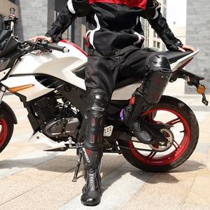 Image 2 - Moto Ausrüstung 4PCs Knie Pads Moto Knie Brace Ellenbogen Wachen MTB Bike Motorrad Komfort Knie Schutzhülle Pad Outdoor Sport scoyco