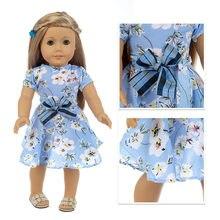 Подходит для новорожденных 18 дюймов американская кукла 43 см