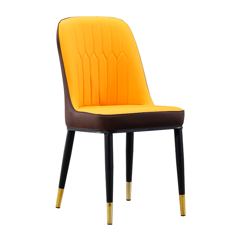 Nordic Style Dining Chair Simple Home Back Stool Makeup Desk  Hotel Modern Luxury Iron Table