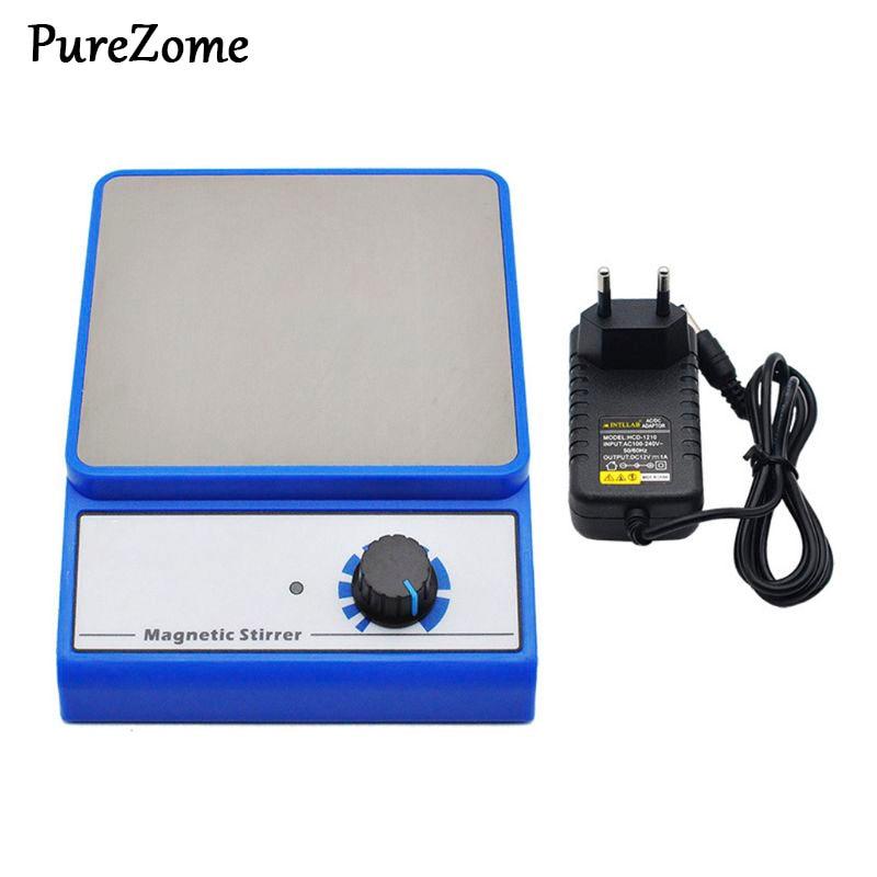 EU Plug Magnetic Stirrer Mixer Blender Machine With Stir Bar Laboratory 3000ml Capacity Maximum Stirring 3000rpm