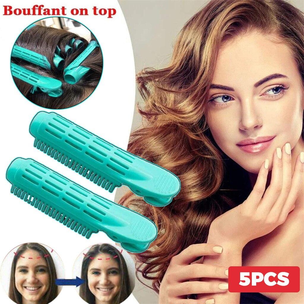 5 шт. щипцы для завивки волос зажим для самостоятельной фиксации объем щипцы для завивки волос зажим естественно кудрявые волосы Стайлинг