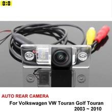 For Volkswagen Touran Golf Touran 2003~2010 HD CCD Night Vision Reversing Back up Camera Car Parking Camera Rear View Camera