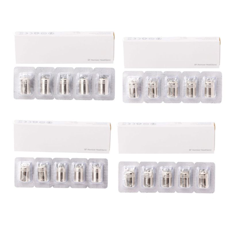 5Pcs/Set Replacement Coil Heads For AIO CUBIS BF SS316 0.5/0.6/1.0/1.5 Ohm