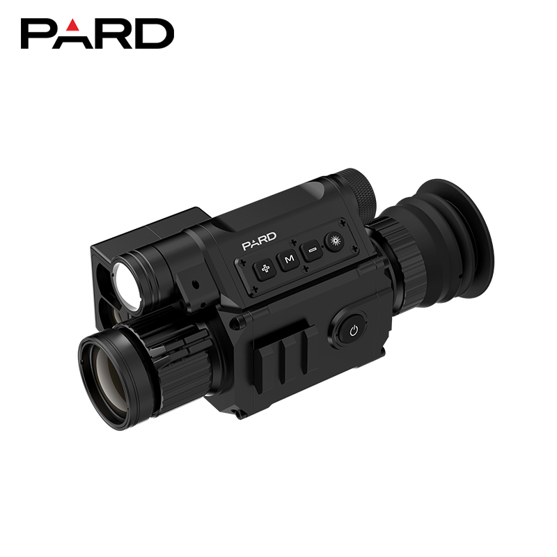 Newest Design PARD NV008LRF Night Vision Scope Cameras With Laser Rangefinder 850NM IR Digital Night Vision Riflescope Optics