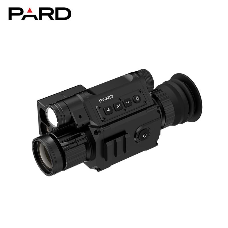 Newest Design PARD NV008LRF Night Vision Scope Cameras With Laser Rangefinder 850NM IR Digital Night Vision Riflescope Optics