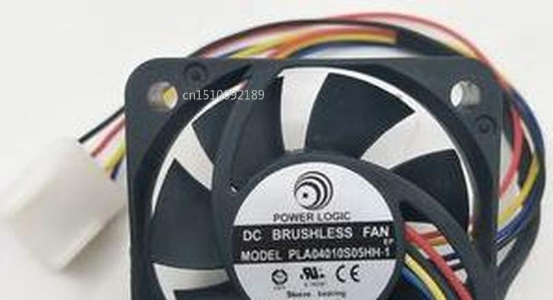 For POWER LOGIC PLA04010S05HH-1 PLA04010S05HH DC5V 0.27A 4010 4CM 40mm 40x40x10mm 40*40*10mm 4Pin 4Wire PWM Chipset Cooling Fan