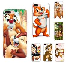 Chip 'n' Dale Chipmunks Coque Telefone TPU Macio Para Samsung Galaxy Note 5 8 9 S3 S4 S5 S6 S7 s8 S9 S10 5G mini Borda Além de Lite(China)