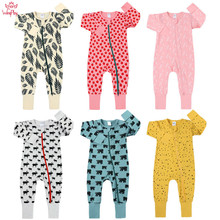 2019 Autumn Baby Rompers Cotton Long Sleeve For New Born Clothes Girls Boys Romper Jumpsuit