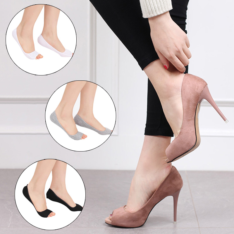 Invisible Toe Socks With Non Slip Silicone To Protect Feet From Pain For Office Use And Daily Use 2