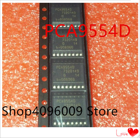 NEW 10PCS/LOT PCA9554D  PCA9554 SOP-16
