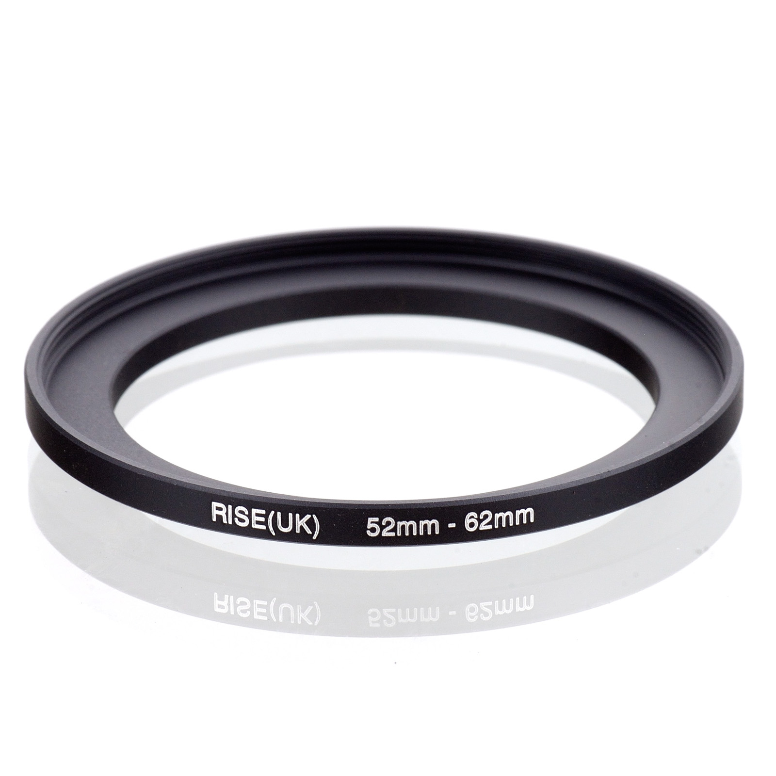 RISE(UK) 52mm-62mm 52-62 Mm 52 To 62 Step Up Filter Ring Adapter