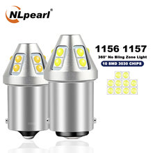 Nlpearl 2x сигнальная лампа 1157 bay15d светодиодный p21/5 Вт