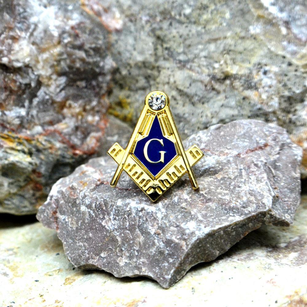 Masonic Lapel Pins Badge Mason Freedom  Zinc alloy material  exquisite souvenirs  gifts