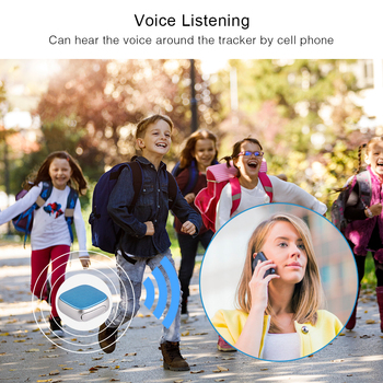 Mini GPS Tracker Children SOS Voice Monitor Geo-fence Pet Tracker 5