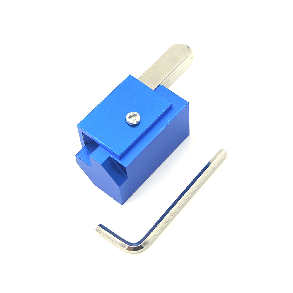 Right Angle Chisel Recesses Metal DIY Punching Tool Durable Quick Cutting Square Hinge Woodworking Corner Furniture Accurate