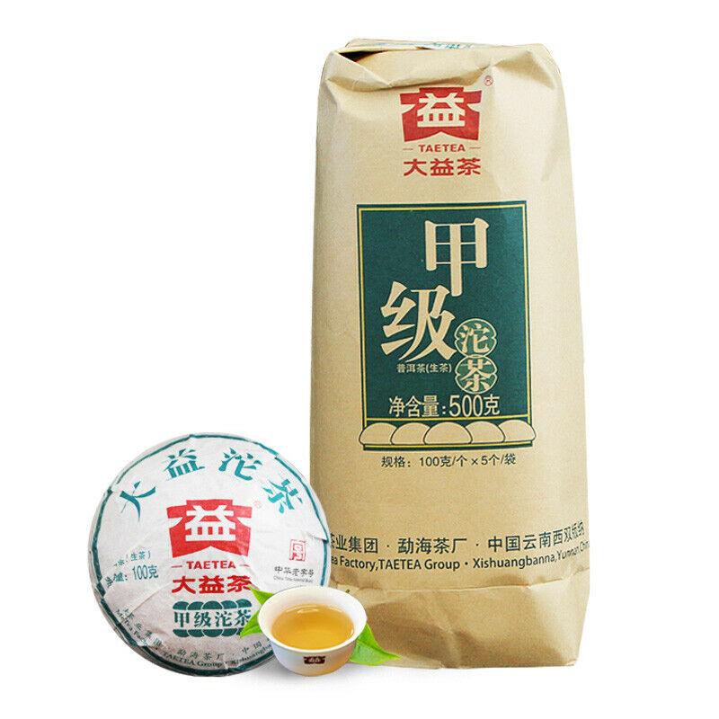 TAETEA Jia Ji Tuo 2018 Year Meng Hai Pu-erh Dayi Raw Classical Sheng Cha Tea 500g
