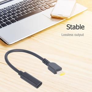 Image 5 - Adaptateur de convertisseur dextension coupleur USB Type C femelle à connecteur cc adaptateur de chargeur rapide PD pour hélice ThinkPad 10