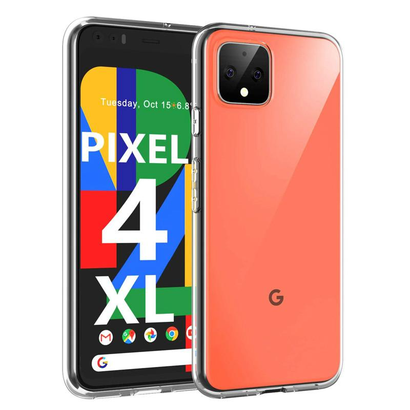 Transparent Case For Google Pixel 4 3 3A XL Lite Clear Soft Back Cover For Google Pixel 4XL Pixel4 XL 3Lite 3Axl Lite Phone Case