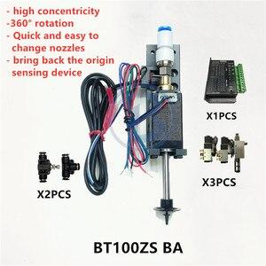 Image 4 - BT100 SMT kafa Nema8 içi boş mil step pick yeri kafa SMT DIY mountor 5mm özel bağlantı memesi döner ortak