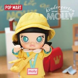 Image 3 - Pop Mart Kleuterschool Molly Bjd 14Cm Verjaardagscadeau Kid Speelgoed Nieuwe Aangekomen Gratis Verzending
