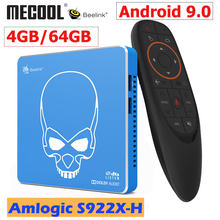 Beelink GT-KING Pro Amlogic S922X-H Smart Android 9.0 TV Box 4GB DDR4 64GB ROM Dolby Audio DTS Mendengarkan 4K HD Hi-fi Media Player(China)