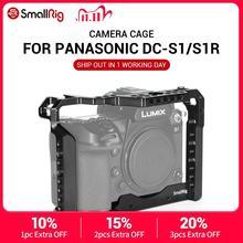 Smallrig dslr s1 gaiola de câmera para panasonic lumix DC S1 & s1r característica com sapata fria montagem para micronic flash luz anexar 2345