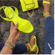 Лето 2020 новые женские летние туфли на плоской подошве; Туфли