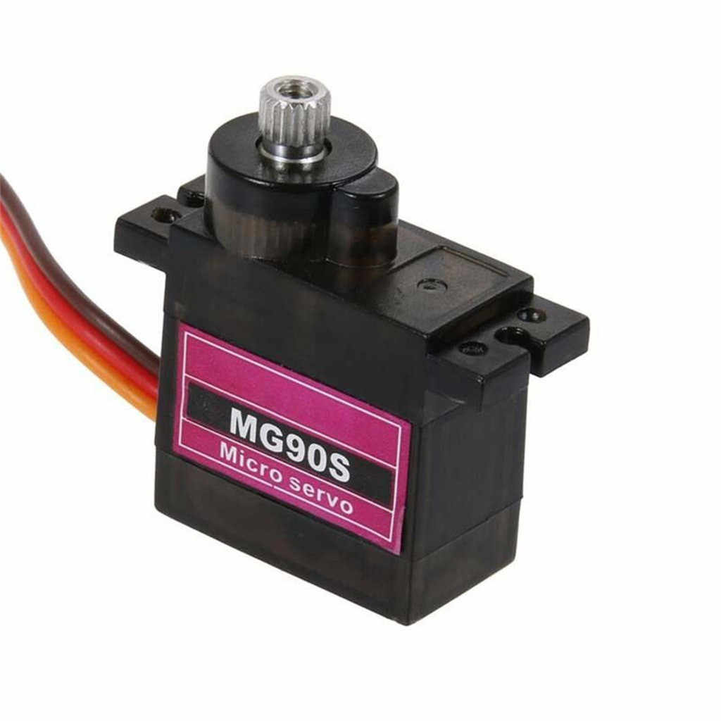 MG90S Micro Metal Gear 9g Servo for RC Plane Helicopter Boat Car 4.8V- 6V Model Funny Accessories Toys for children Juguetes